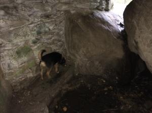 Ossian's cave interior